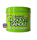 Murphy's Mosquito Candle - All Natural Insect Repellent Candle - RSPO Palm wax infused with Citronella, Lemongrass & Rosemary. Made in Raleigh, NC!