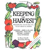 img - for Keeping the harvest: Home storage of vegetables & fruits book / textbook / text book