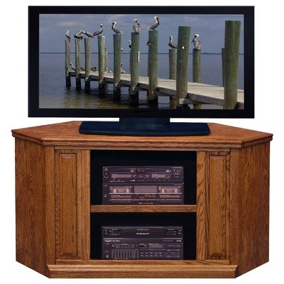 Cheap Traditional Corner TV Stand in Golden Oak (TT1103.GDO)