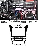 Prewoodec Cockpit Dekor f�r Chevrolet Matiz/Spark KLYA ab 02.2005 Carbon-Fiber (Exklusive 3D Fahrzeug-Ausstattung - Made in Germany)