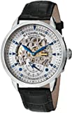 Stuhrling Original Men's Symphony Aristocrat Executive Automatic Skeleton Silverstone Dial Watch 133.33152