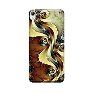 iShell Premium Printed Mobile Back Case Cover With Full protection For HTC 826 (Designer Case)