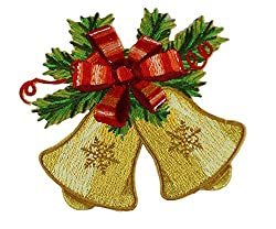 Application Holiday Bells Patch