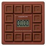 reina チョコプレートタイマー 【10キータイマー】 チョコレートビター RJ082TM02-CB
