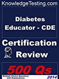 img - for Diabetes Educator - CDE Certification Review (Knowledge Testing Book 1) book / textbook / text book