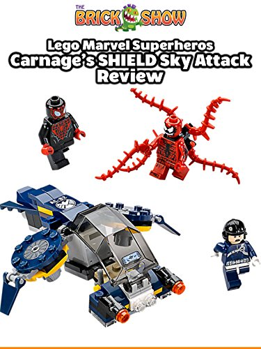 LEGO Marvel Superheroes Carnage's SHIELD Sky Attack Review (76036)