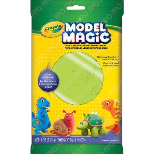 Crayola Model Magic Clay Bag, Neon Green, 4-Ounce