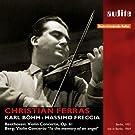 Beethoven - Berg : Concertos pour violon / Ferras - B�hm - Freccia