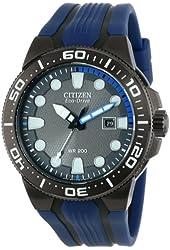 Citizen Men's BN0097-02H Scuba Fin Eco-Drive Scuba Fin Diver's Watch