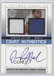 Jameer Nelson #1 30 Orlando Magic (Basketball Card) 2004-05 E-XL Court Authentics... by E-XL