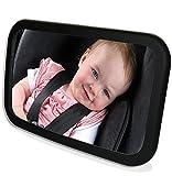 MYTK große Spiegelfläche Aus bruchsicherem Glas Baby Rückspiegel mit und