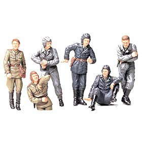 Russian Army Tank Crew Military Model Kit