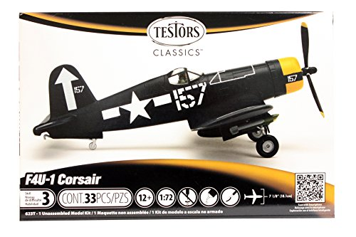 1/72 Corsair Plastic Airplane Model Kit