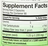 Natures Way Fenugreek Seed 610 mg, Capsules 180ea
