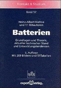 Batterien. Heinz-Albert Kiehne, D. Berndt and K. Boettger