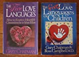 img - for The Five Love Languages 2 Book Set (The Five Love Languages: How to Express Heartfelt Commitment to Your Mate ~ The Five Love Languages of Children) book / textbook / text book