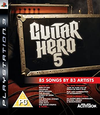 Guitar Hero 5 - Game Only (PS3) from Activision