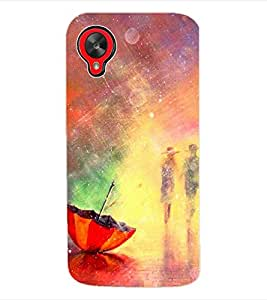 ColourCraft Printed Back Case Cover for LG GOOGLE NEXUS 5