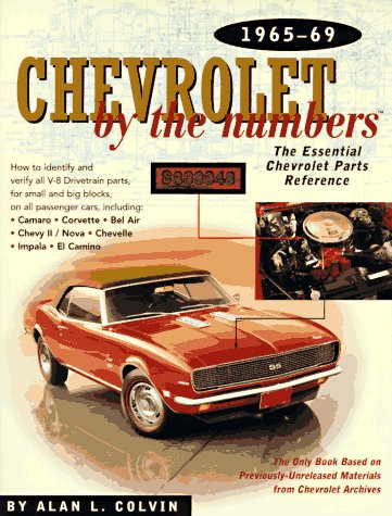 Chevrolet by the Numbers 1965-69: The Essential Chevrolet Parts Reference