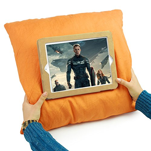Lavievert Cotton iPad Air Pillow Case Design iPad Pillow Tablet Holder Case Cover, Simply ...