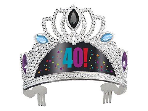40th Birthday Cheer Tiara Party Princess Hat