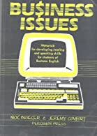 Business Issues: Materials for Developing Reading and Speaking Skills for Students of Business English