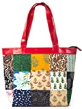 Green The Gap Handbag (Multicolor)