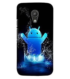 ColourCraft Cartoon Design Back Case Cover for MOTOROLA MOTO G2