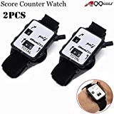 A99 Golf Score Scoring Putt Shot Counter Keeper band Bangle Watch 2 pcs