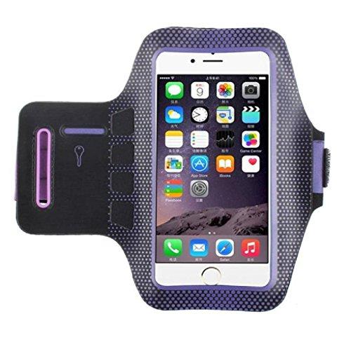 Covermason Polka Dot sport Gym brassard bras bande Etui Housse pour iphone 7 Plus de 5.5 pouces
