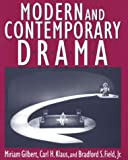 Modern and Contemporary Drama (0312090773) by Klaus, Carl H.