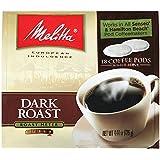 Melitta 75449 Dark Roast Soft Pod Pack 18 Count