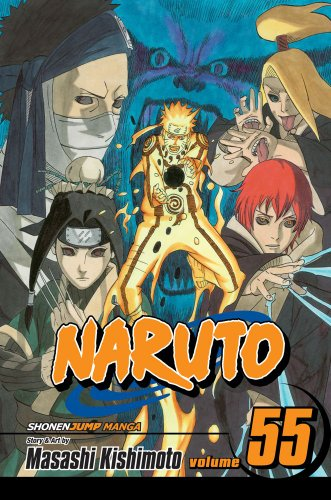 NARUTO -ナルト- 55巻 (英語版)