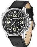 Montre bracelet noire Campton pour homme