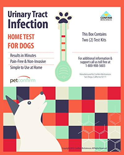 Instant Urinary Tract Infection (UTI) Testing Kit For Dog Early Screening At Home (2 Tests Per Package) (Urine Dipsticks For Uti compare prices)