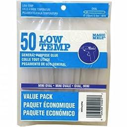 Ad-Tech 203064 Low Temp Oval Mini Glue Sticks-.28X4 50/Pkg