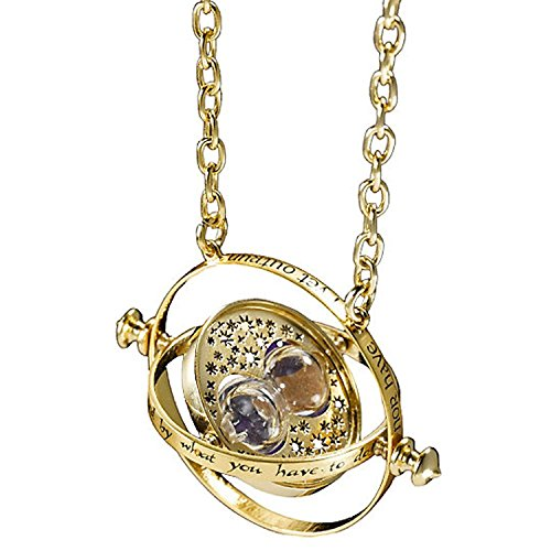 Accessorisingg Harry Potter Time Turner Golden Pendant For Girls[PD034]