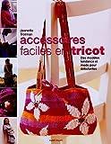echange, troc Jeanette Trotman - Accessoires faciles en tricot : Des modèles tendance et mode pour débutantes