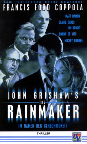 The Rainmaker [VHS]