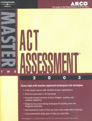 Arco Master the ACT Assessment 2003