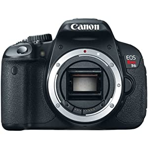 Canon EOS REBEL T4i 18.0 MP CMOS Digital Camera with 3-inch Touchscreen and Full HD Movie Mode (Body Only)