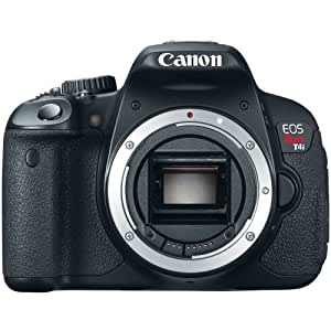 Canon EOS Rebel T4i DSLR (Body Only) (OLD MODEL)