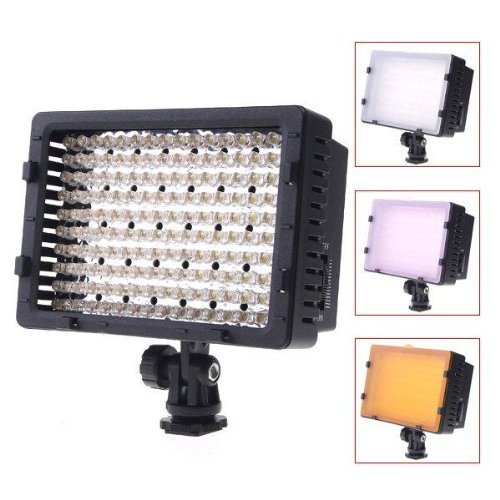 NEEWER® CN-160 160PCS LED Dimmable Ultra High Power Panel Digital Camera Camcorder Video Light - LED Light for Canon - Nikon - Pentax - Panasonic - SONY - Samsung and Olympus Digital SLR Cameras