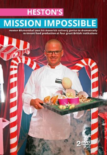 Heston's Mission Impossible:Heston Blumenthal - Channel 4 TV Series [DVD]