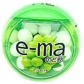 味覚糖 e-maのど飴容器 マスカット 33g×6個