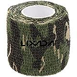Lixada Bande de camouflage pour Chasse Camping réutilisable