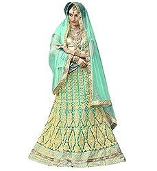 Silvermoon women's Net Embroidered heavy lehenga choli-sm_smGLFA5306_Light green_free size