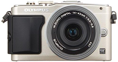 OLYMPUS ミラーレス一眼 PEN E-PL6 14-42mm EZレンズキット シルバー E-PL6 EZ LKIT SLV