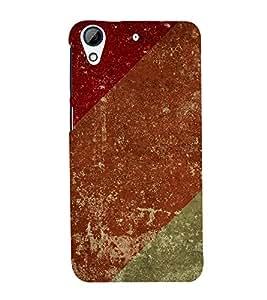 Three Colour 3D Hard Polycarbonate Designer Back Case Cover for HTC Desire 626 :: HTC Desire 626 Dual SIM :: HTC Desire 626S :: HTC Desire 626 USA :: HTC Desire 626G+ :: HTC Desire 626G Plus