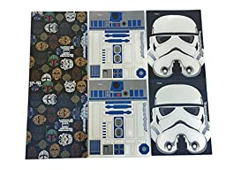Trapper Keeper Star Wars 2-Pocket Folders by Mead, Assorted Designs, 6 Pack